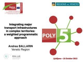 Andrea BALLARIN Veneto Region