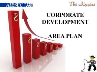Corporate Development Plan
