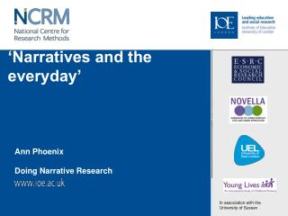 �Narratives and the everyday�