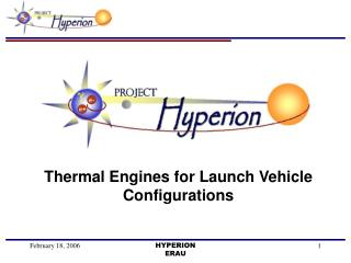 Thermal Engines for Launch Vehicle Configurations