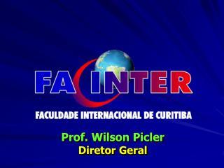 Prof. Wilson Picler Diretor Geral