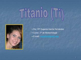 Titanio (Ti)