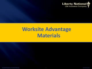 Worksite Advantage Materials