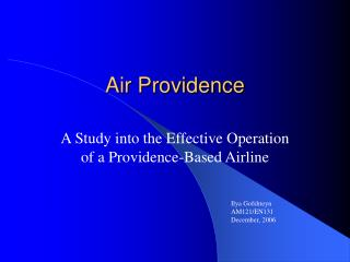 Air Providence