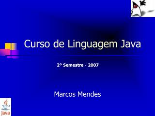 Curso de Linguagem Java