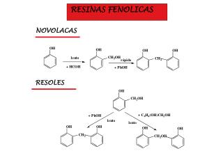 RESINAS FENOLICAS
