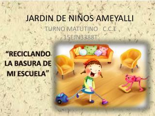 JARDIN DE  NIÑOS  AMEYALLI