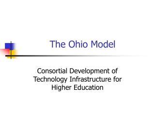 The Ohio Model