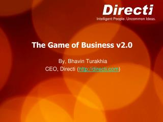 The Game of Business v2.0
