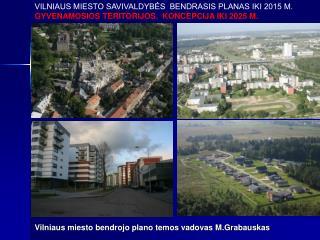 Vilniaus miesto bendrojo plano temos vadovas M.Grabauskas
