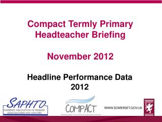 Compact Termly Primary Headteacher Briefing November 2012