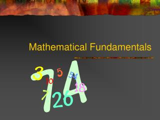 Mathematical Fundamentals