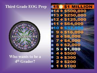 Third Grade EOG Prep