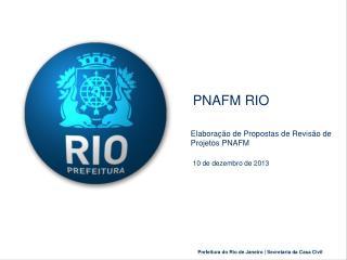 PNAFM RIO