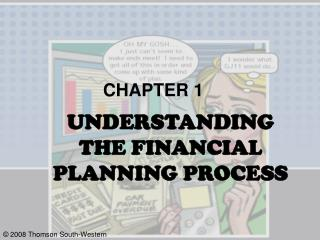 UNDERSTANDING  THE FINANCIAL PLANNING PROCESS