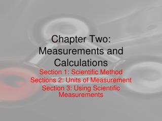 Chapter Two: Measurements and Calculations