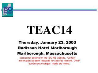 TEAC14