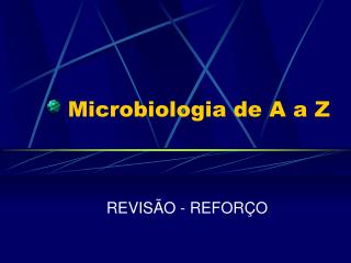 Microbiologia de A a Z