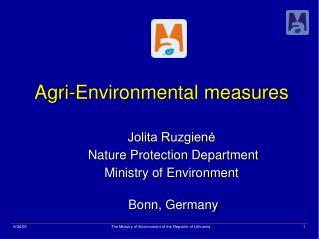 Agri-Environmental measures