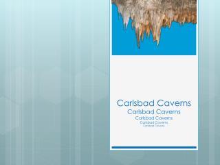 Carlsbad Caverns Carlsbad Caverns Carlsbad Caverns Carlsbad Caverns Carlsbad Caverns