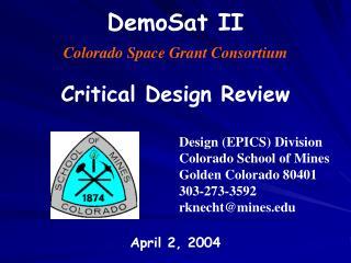 DemoSat II