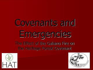 Covenants and Emergencies