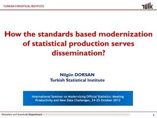 Nilgün DORSAN Turkish Statistical Institute