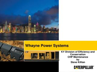 Whayne Power Systems