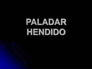 PALADAR HENDIDO