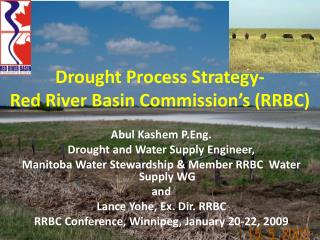 Drought Process Strategy- Red River Basin Commission's (RRBC)