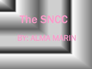 The SNCC