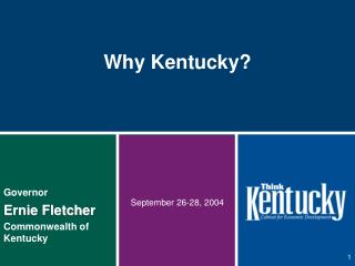 Why Kentucky?