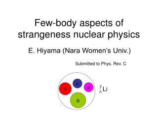 Few-body aspects of strangeness nuclear physics