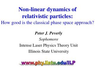 Non-linear dynamics of  relativistic particles:  How good is the classical phase space approach?