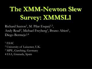 The XMM-Newton Slew Survey: XMMSL1