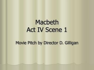 Macbeth Act IV Scene 1