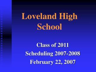Loveland High School