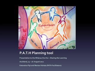 P.A.T.H Planning tool