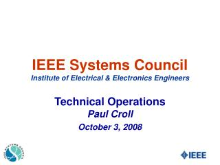 IEEE Systems Council Institute of Electrical & Electronics Engineers