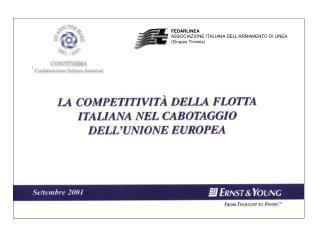 FEDARLINEA ASSOCIAZIONE ITALIANA DELL'ARMAMENTO DI LINEA (Gruppo Tirrenia)