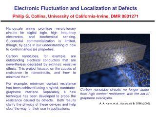 A. A. Kane, et al.,  Nano Lett. 9 , 3586 (2009).