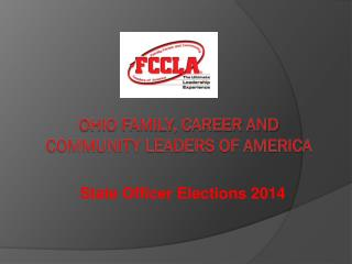 Ohio Family, Career and Community Leaders of America