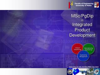 MSc/PgDip in Integrated Product Development