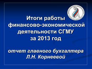 Динамика консолидированного бюджета СГМУ, млн.руб .