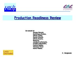 Production Readiness Review