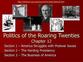 Politics of the Roaring Twenties Chapter 12