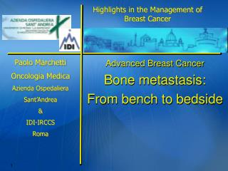 Advanced Breast Cancer Bone metastasis: From bench to bedside