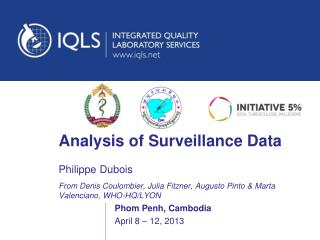 Analysis of Surveillance Data