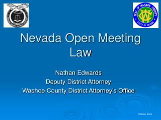 Nevada Open Meeting Law