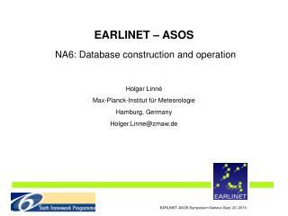 EARLINET-ASOS Symposium Geneva Sept. 20, 2010